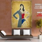 Wonder Woman Princess Diana Huge Giant Print Poster