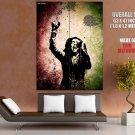 Guitarist Music Raggae Bob Marley HUGE GIANT Print POSTER