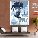 Apply Yourself Breaking Bad Serials HUGE GIANT Print POSTER