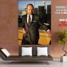 Jason Statham Actor Film Transporter Huge Giant Print Poster