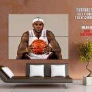 Le Bron Usa Miami Heat Basketball Sport Huge Giant Print Poster