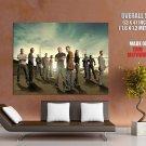 Prison Break Burrows Scofield Huge Giant Print Poster