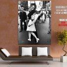 Sailor S Kiss Aug 14 1945 Retro Classic BW HUGE GIANT Print Poster