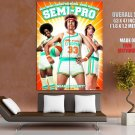 Semi Pro Characters Cast Movie HUGE GIANT Print Poster