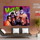 The Misfits Punk Rock Band Painting Art HUGE GIANT Print Poster