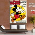 Mickey Mouse Retro Movie Vintage HUGE GIANT Print Poster