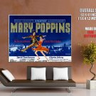 Mary Poppins Retro Movie Vintage HUGE GIANT Print Poster