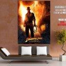 Indiana Jones Kingdom Of The Crystal Skull HUGE GIANT Print Poster