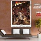 Indiana Jones Raiders Of The Lost Ark Movie HUGE GIANT Print Poster