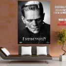 Frankenstein Movie Vintage Art HUGE GIANT Print Poster
