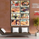 Don T Make Waves Collage Retro Movie HUGE GIANT Print Poster