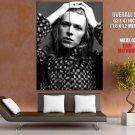 David Bowie Portrait Rock Music Singer BW HUGE GIANT Print Poster