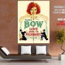 Love Among The Millionaires Retro Movie HUGE GIANT Print Poster