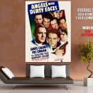Angels With Dirty Faces Retro Movie Vintage HUGE GIANT Print Poster