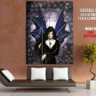 Fairies Gothic Magic Powers Night Art HUGE GIANT Print Poster