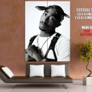 2 Pac Hip Hop Rap Music Singer Bw Huge Giant Print Poster