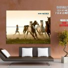 Into The Wild Horses Movie HUGE GIANT Print Poster