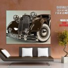 Horch 1937 Car Retro Vintage HUGE GIANT Print Poster