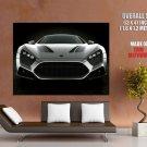Zenvo St1 Grey Car Huge Giant Print Poster