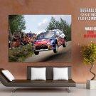 Citroen C4 Car Rally Wrc Huge Giant Print Poster