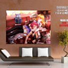 Fairy Tail Lucy Natsu Anime Art Huge Giant Print Poster