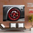 Bmw M3 Bbs Wheel Huge Giant Print Poster