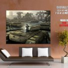 Mechwarrior Online Battletech Tanks HUGE GIANT Print Poster