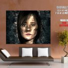 Beyond Two Souls Ellen Page Face Huge Giant Print Poster