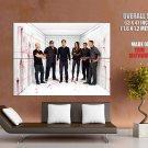 Dexter Cast Characters Tv Series Huge Giant Print Poster