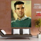 Zachary Quinto Portrait Actor HUGE GIANT Print Poster