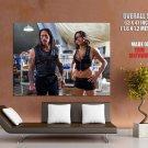 Machete Kills Danny Trejo Michelle Rodriguez HUGE GIANT Print Poster