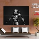 Predator Sci Fi Bw Movie Huge Giant Print Poster