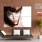 Barbara Palvin Beautiful Portrait Hot Model HUGE GIANT Print Poster