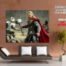 Thor The Dark World Hemsworth Movie 2013 HUGE GIANT Print Poster