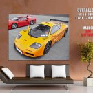 Mc Laren F1 Gtr Supercars Huge Giant Print Poster
