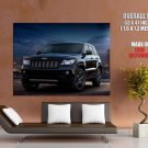 Jeep Grand Cherokee Concept Car HUGE GIANT Print Poster