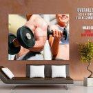 Bodybuilding Fitness Sport HUGE GIANT Print Poster