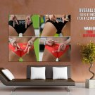 Beach Volleyball Hot Butts Sexy Sport HUGE GIANT Print Poster