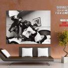 Beatles Band Bw Photo Art Huge Giant Print Poster