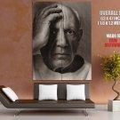 Pablo Picasso BW Portrait Painter HUGE GIANT Print Poster