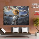 Joan Of Arc French Medieval Painting HUGE GIANT Print Poster