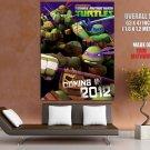 Teenage Mutant Ninja Turtles 2012 Tmnt Huge Giant Print Poster
