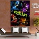 Teenage Mutant Ninja Turtles Art 2012 HUGE GIANT Print Poster