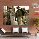 Django Unchained Christoph Waltz Jamie Foxx HUGE GIANT Print Poster