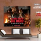 A Good Day To Die Hard Movie Bruce Willis HUGE GIANT Print Poster