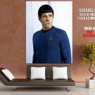 Star Trek Spock Zachary Quinto HUGE GIANT Print Poster