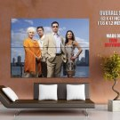 Burn Notice Cast Tv Series Huge Giant Print Poster