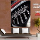 Ford Mustang Boss 302 Logo Car HUGE GIANT Print Poster
