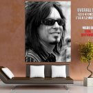 Motley Crue Nikki Sixx Bw Huge Giant Print Poster