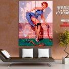 Hot Retro Pin Up Girl Gil Elvgren Art Huge Giant Print Poster